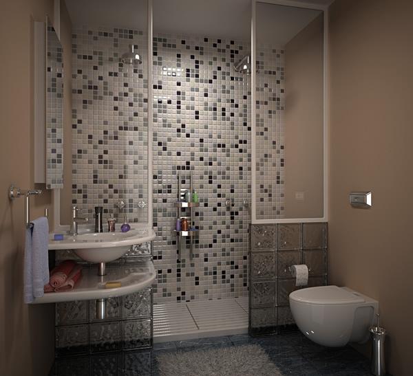 Красивые душевые комнаты фото