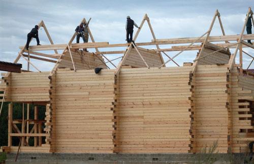 Как построить дешевый деревянный дом