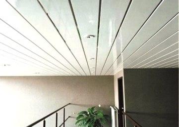 Как сделать пластиковый потолок в туалете фото 832